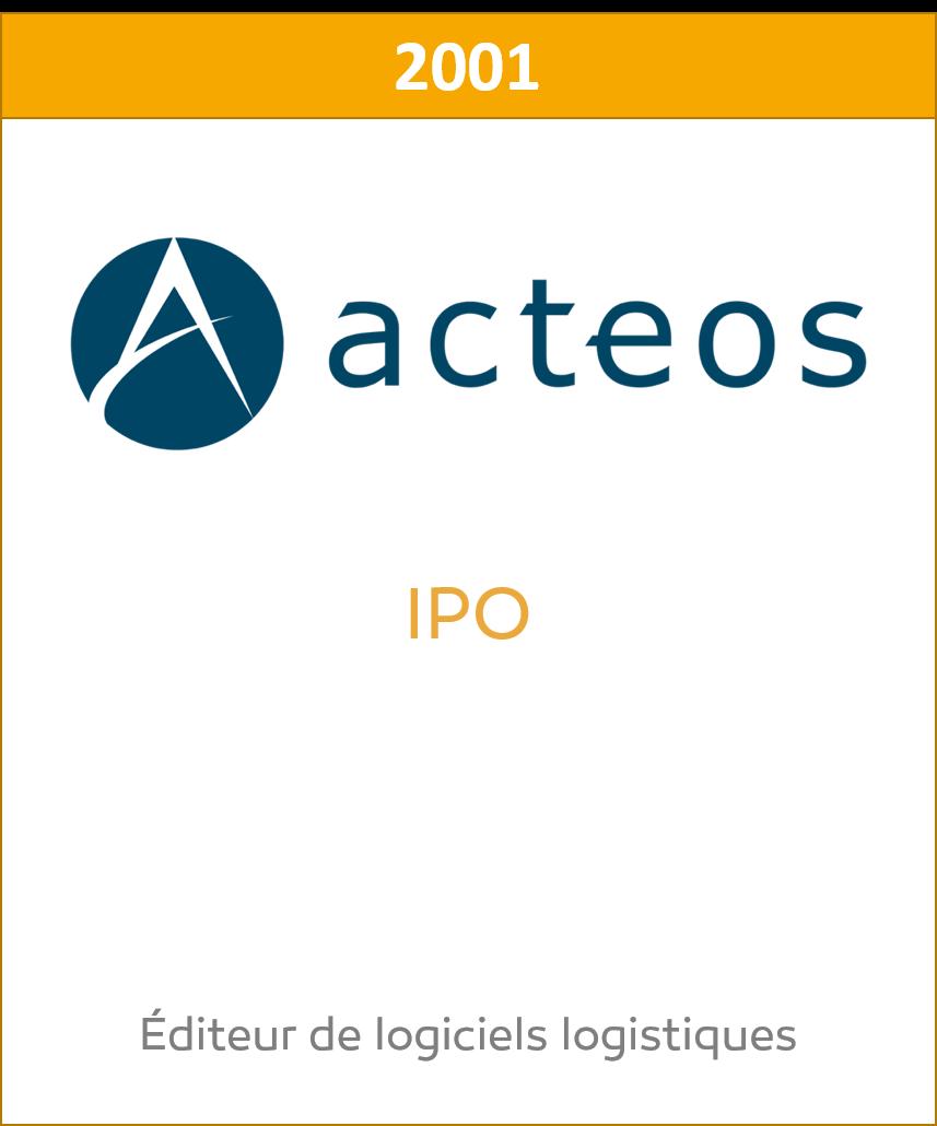 Acteos IPO