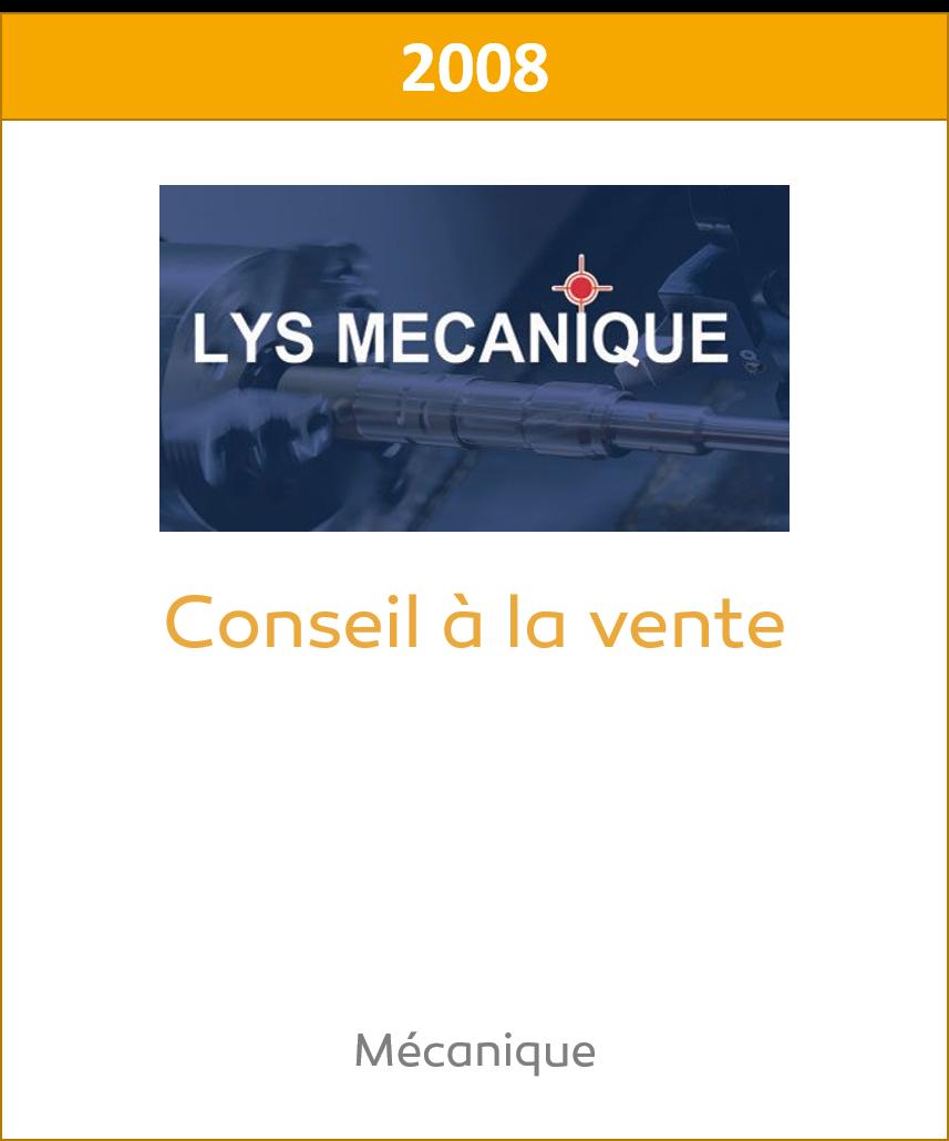 Lys Mecanique Cession