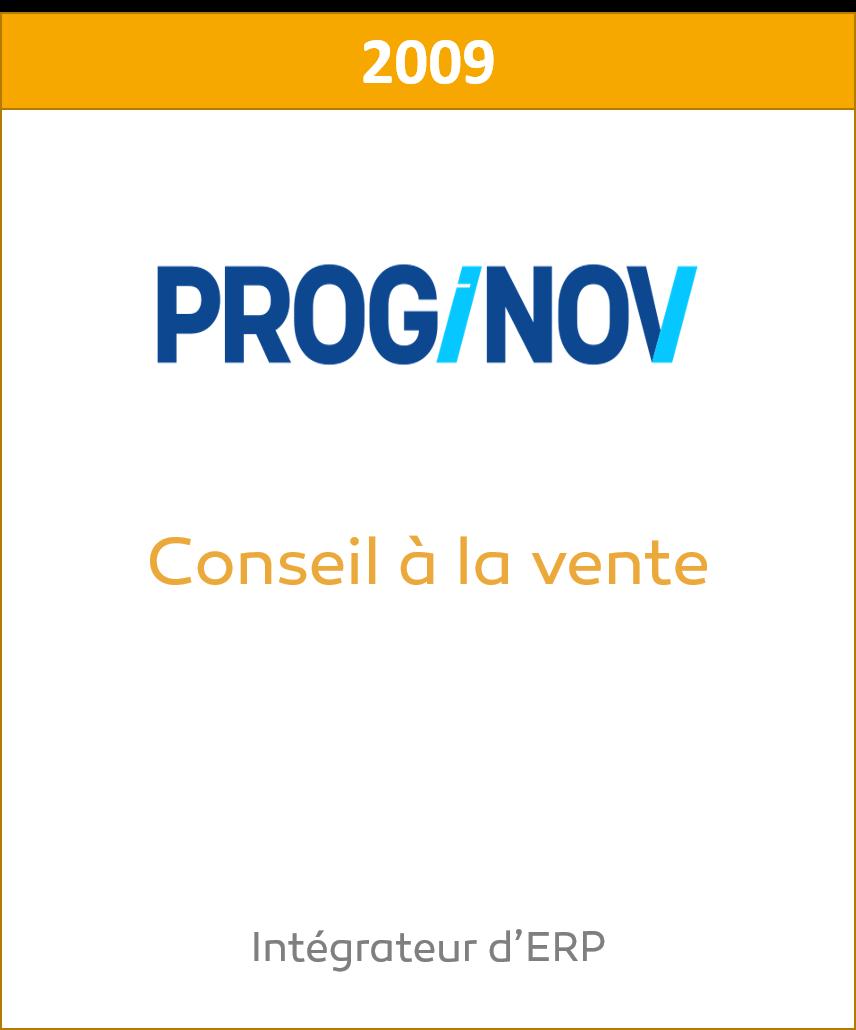 Proginov Cession