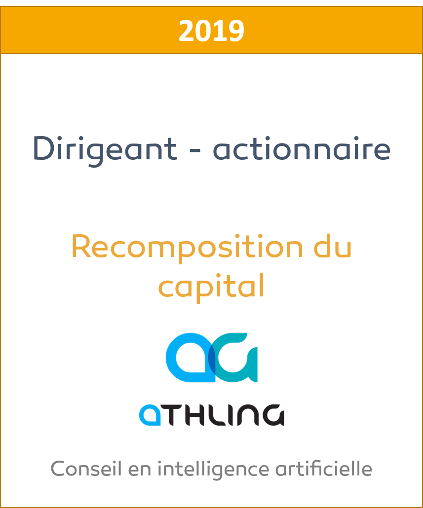 Athling Recomposition du capital